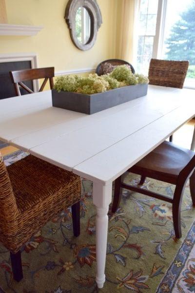 Building A Farmhouse Style Kitchen Table - HMLP 54 Feature