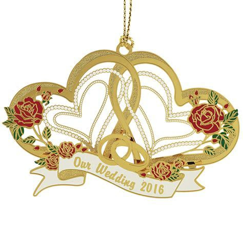Our Wedding Ornament 2016   Chemart Ornaments   Solid