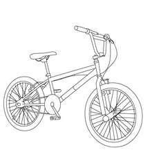 Dibujos Para Colorear Una Bicicleta Bmx Eshellokidscom