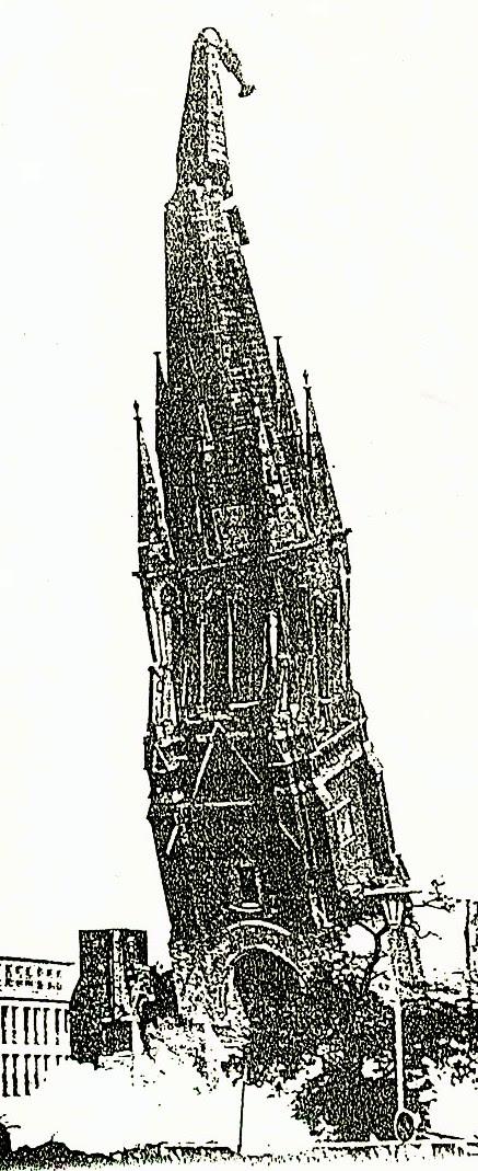 pauluskirche essen 21. 9. 1958