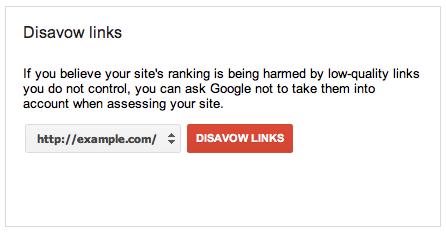 Cứu sống Website bởi Google Link Disavow
