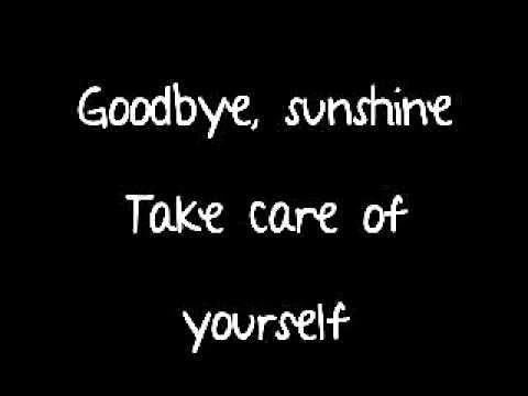 Avril Lavigne Goodbye Lyrics Full Song On Screen And Description