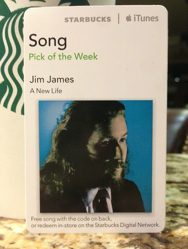 Starbucks iTunes Pick of the Week - Jim James - A New Life