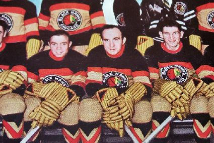 Black Hawks 1935 sweaters