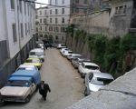 rue qui mene de la place negrier en passant par le lycee d aumale, traversant rue de france pour finir rue grand