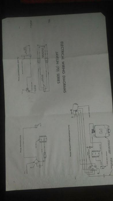 Amc Javelin Wiring Schematic - Wiring Diagram Networks