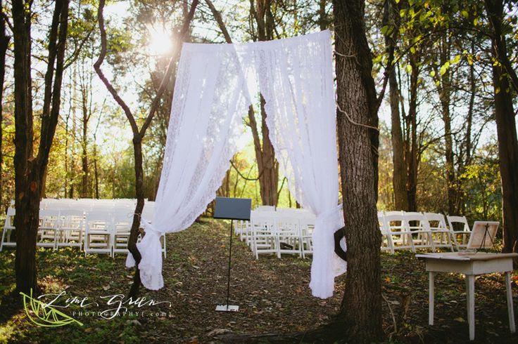 Unique Outdoor Wedding Altar Ideas