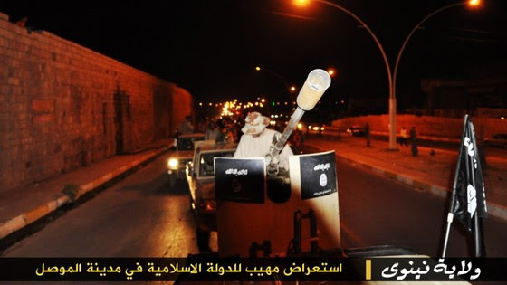 ISIS Holds Parade With Captured US Military Vehicles ISIS Mosul Parade 7 thumb 560x315 3340