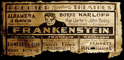 CLICK ON THE FRANKENSTEIN AD TO SLITHER TO THE TOP