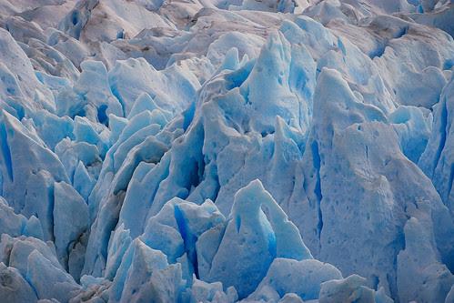 Perito Moreno Glacier Closeup