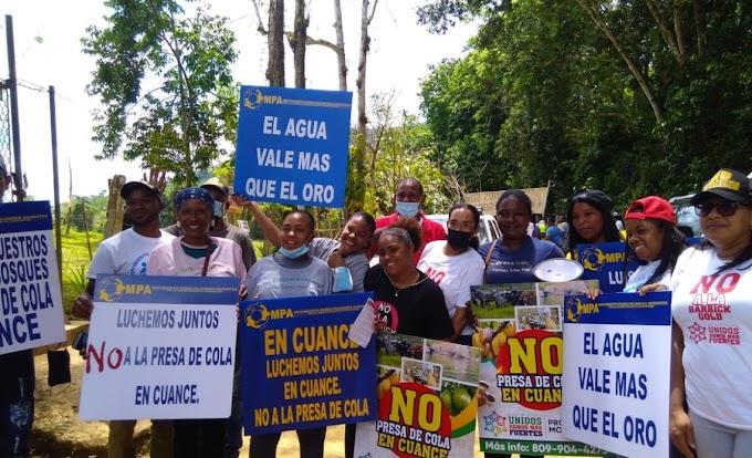 SOLICITAN AL PRESIDENTE ABINADER PRONUNCIARSE SOBRE PRESA DE COLA EN CUANCE DE YAMASÁ