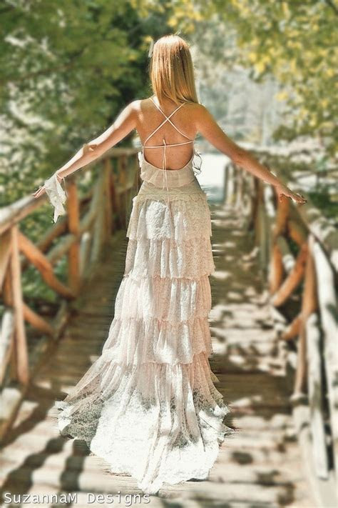 Top 14 Beauty Lace Bohemian Wedding Dress Designs ? Cheap