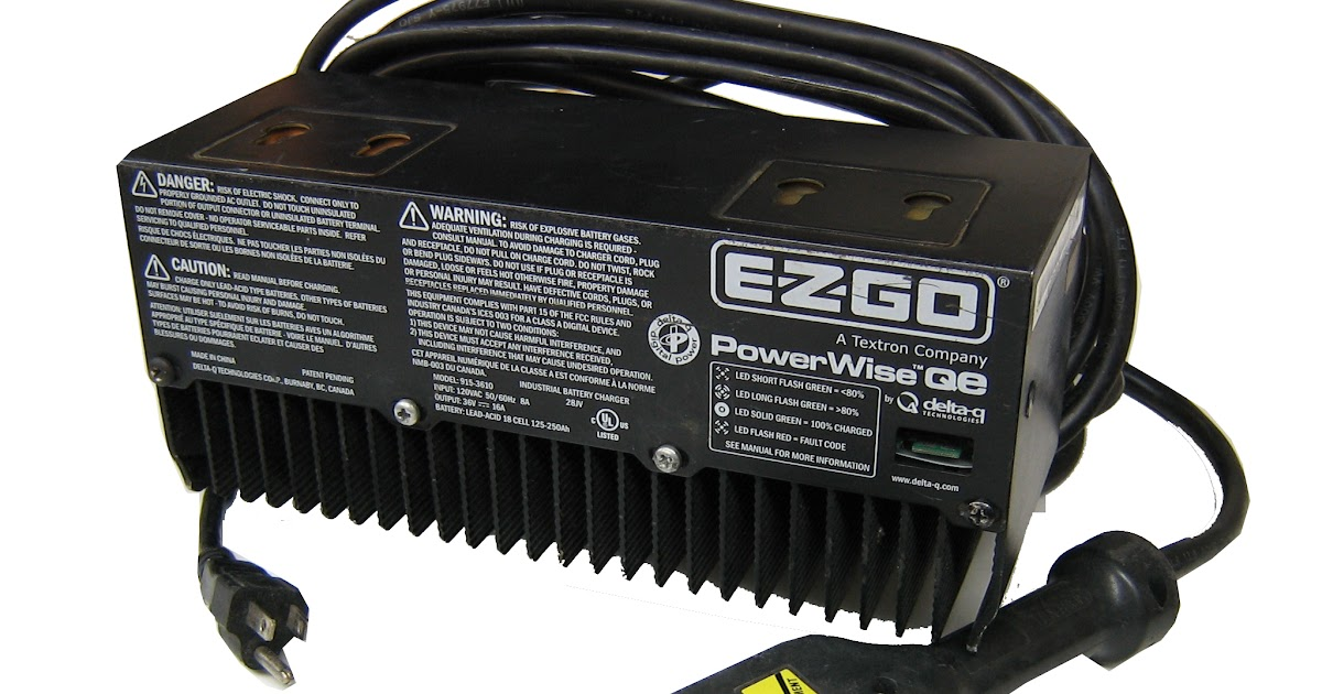 Ez Go Powerwise Qe Charger Wiring Diagram