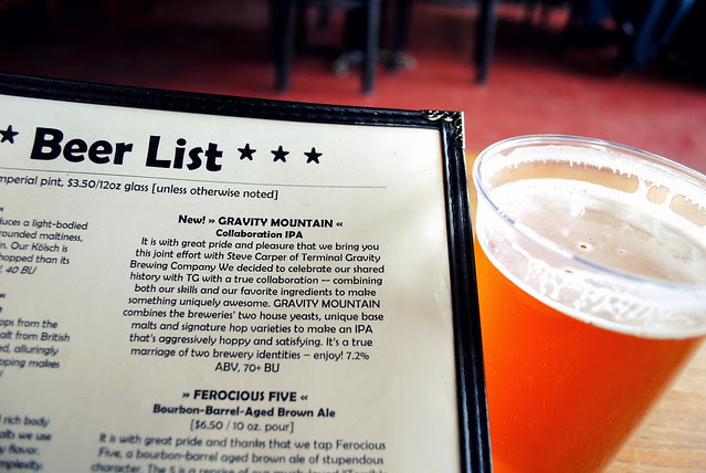 a Collaboration IPA at Double Mountain Brewery - Hood River, Oregon