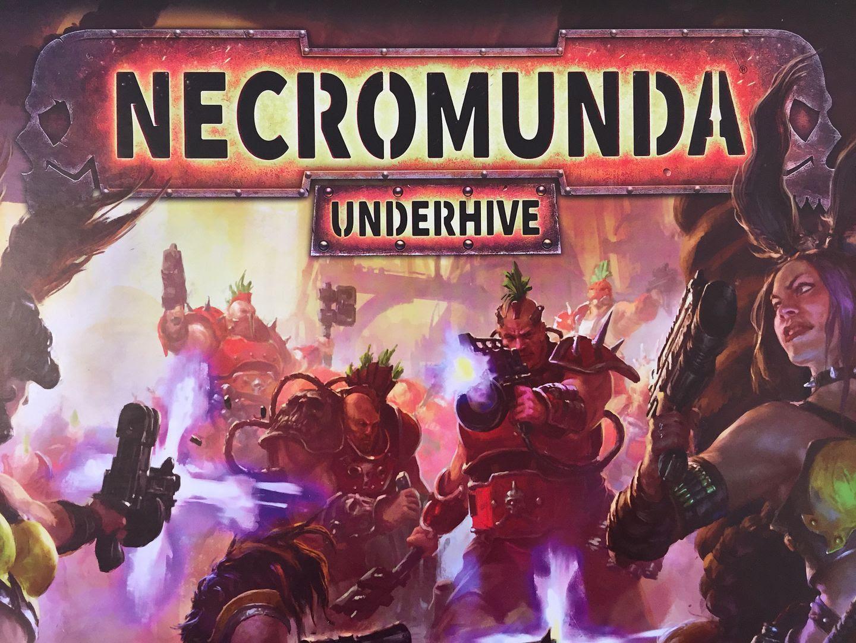 Necromunda: Underhive cover art