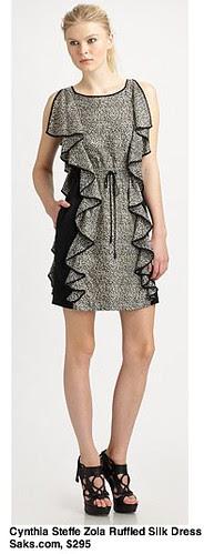 Saks.com - Cynthia Steffe - Zola Ruffled Silk Dress