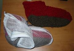 Slippers in Progress