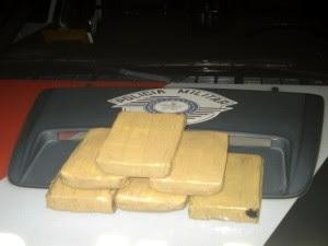 Quatro são detidos por tráfico de drogas em Jacareí, SP (Foto: Divulgação/Polícia Militar)