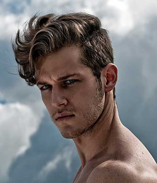 Hairstyles For Men With Curly Hair Long 76