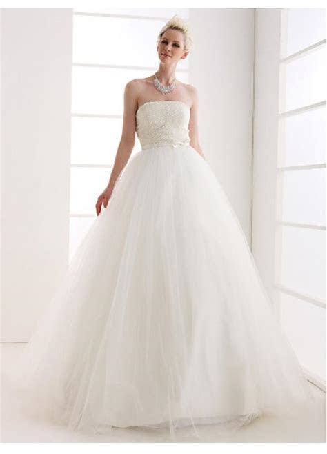 Light In The Box Ball Gown Strapless Floor length Tulle