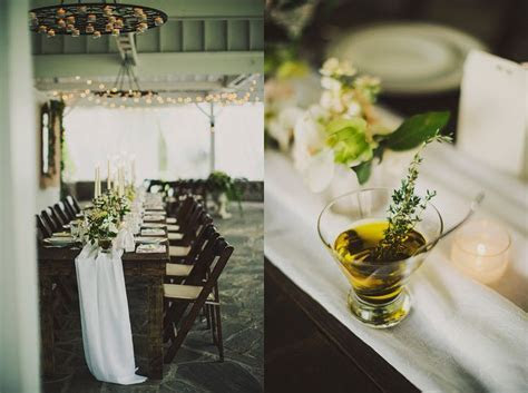 nashville wedding elopement elegant and rustic table decor