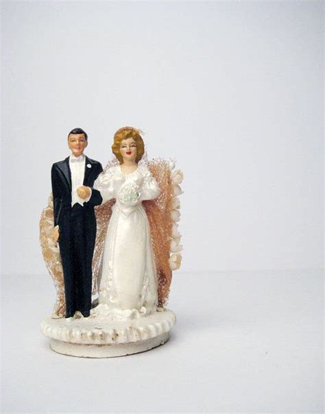 532 best images about Vintage Wedding Cake Toppers on