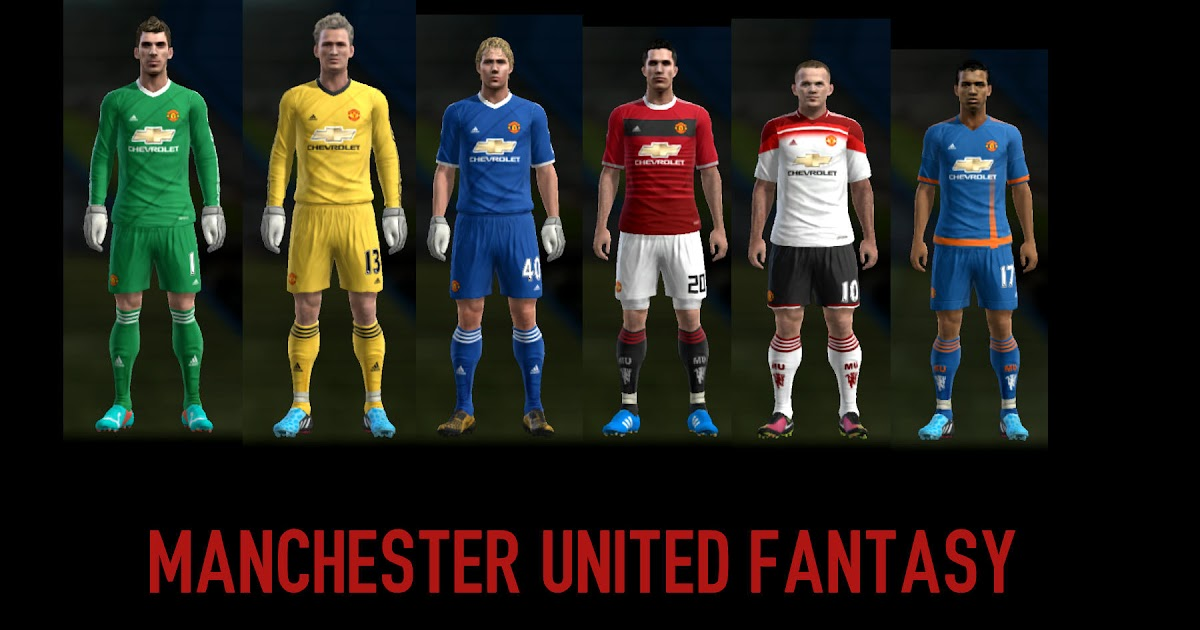 PES-MODIF: PES 2013 Manchester United Fantasy Kits By
