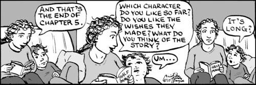 Home Spun comic strip #434
