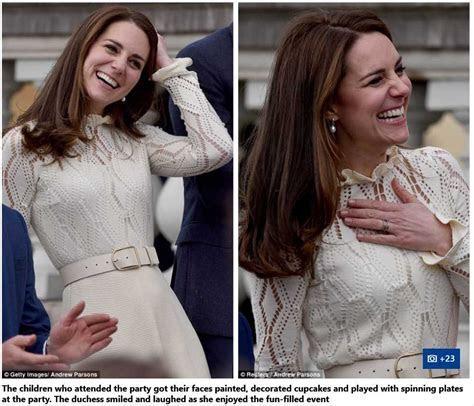 Catherine Duchess of Cambridge Reveals Prince George VERY
