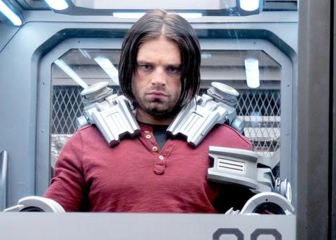 Winter Soldier/Bucky Barnes (Sebastian Stan) in Marvel's Captain America: Civil War