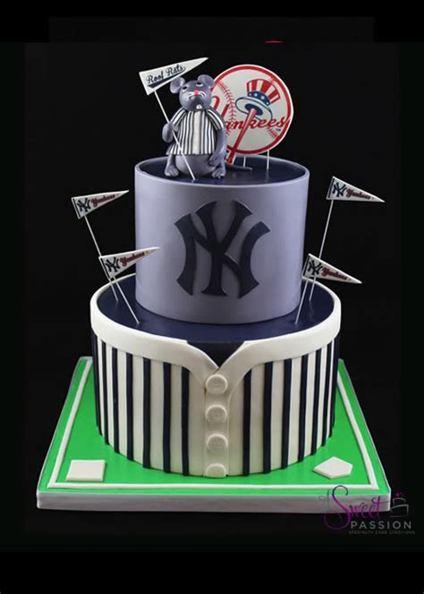 Yankees Cake ? Sweet Passion Cakery