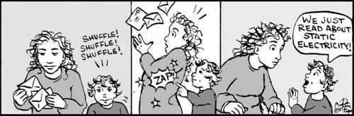 Home Spun comic strip #581