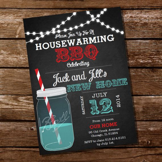 Christmas housewarming invitation house warming party new home ...
