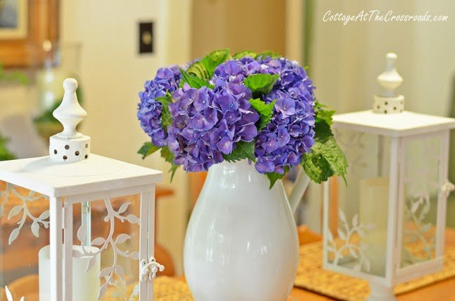 From My Front Porch To Yours-How I Found My Style Sundays-hydrangeas | Cottage at the Crossroads