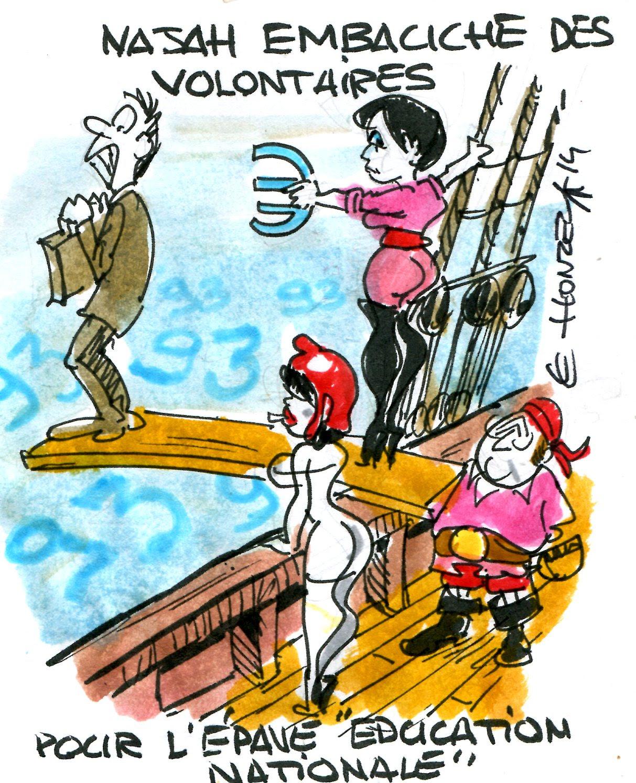 éducation nationale najat vallaud belkacem rené le honzec