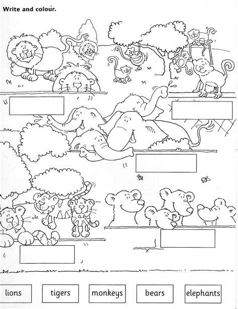 zoo animals worksheets printable zoo worksheet