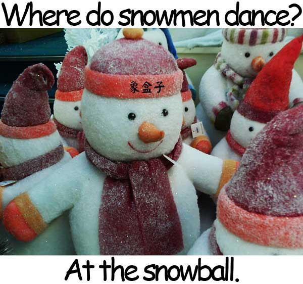 snowball 雪球 雪人 snowman snowmen