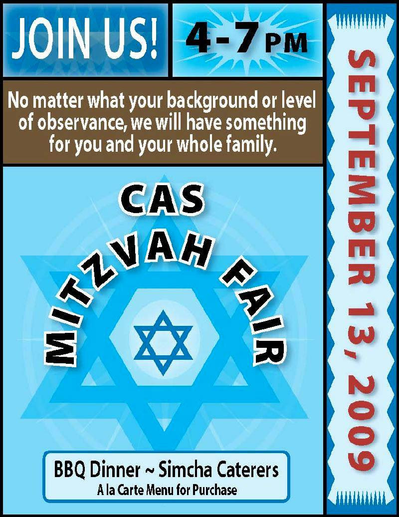 Mitzvah fair front