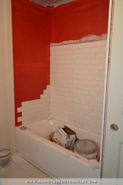 installing tile diagonally
