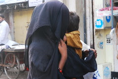 Dead Tears on the Soul of Motherhood -Muslim Beggar by firoze shakir photographerno1
