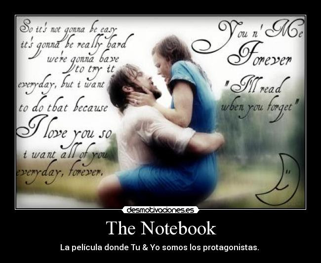 The Notebook Desmotivaciones