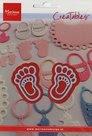 LR0305 Creatables snij- embossingmal feet
