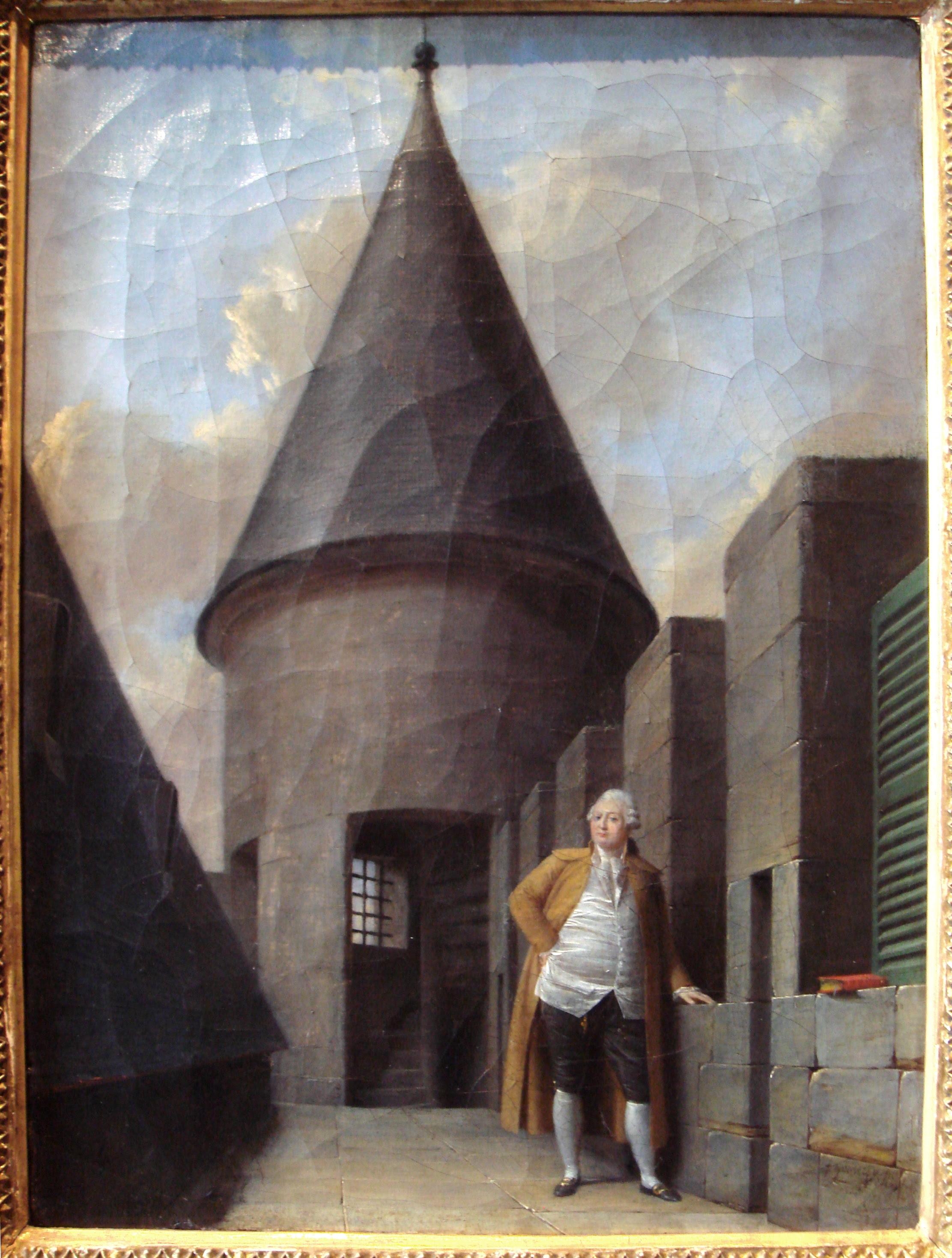 Jean-François Garneray: Louis XVI at the Tour du Temple