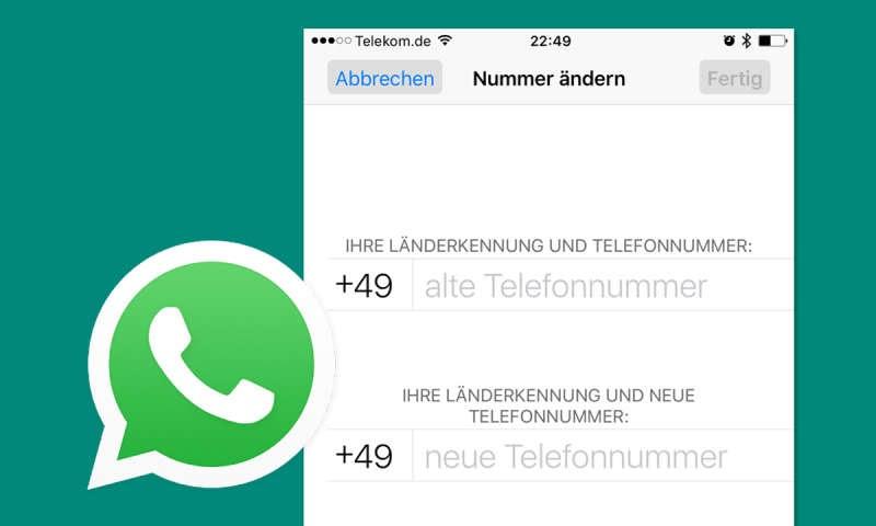 Whatsapp Nummer Wechseln Wer Sieht Es