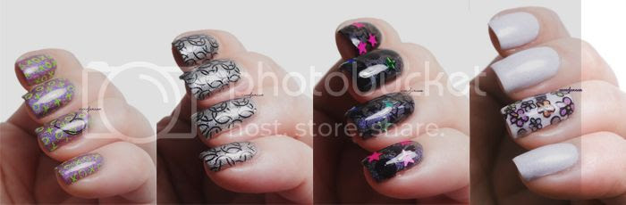 xoxoJen's stamping nail art
