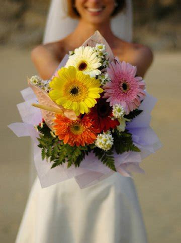 Gerber Daisy Wedding Bouquet   Daisy Weddings