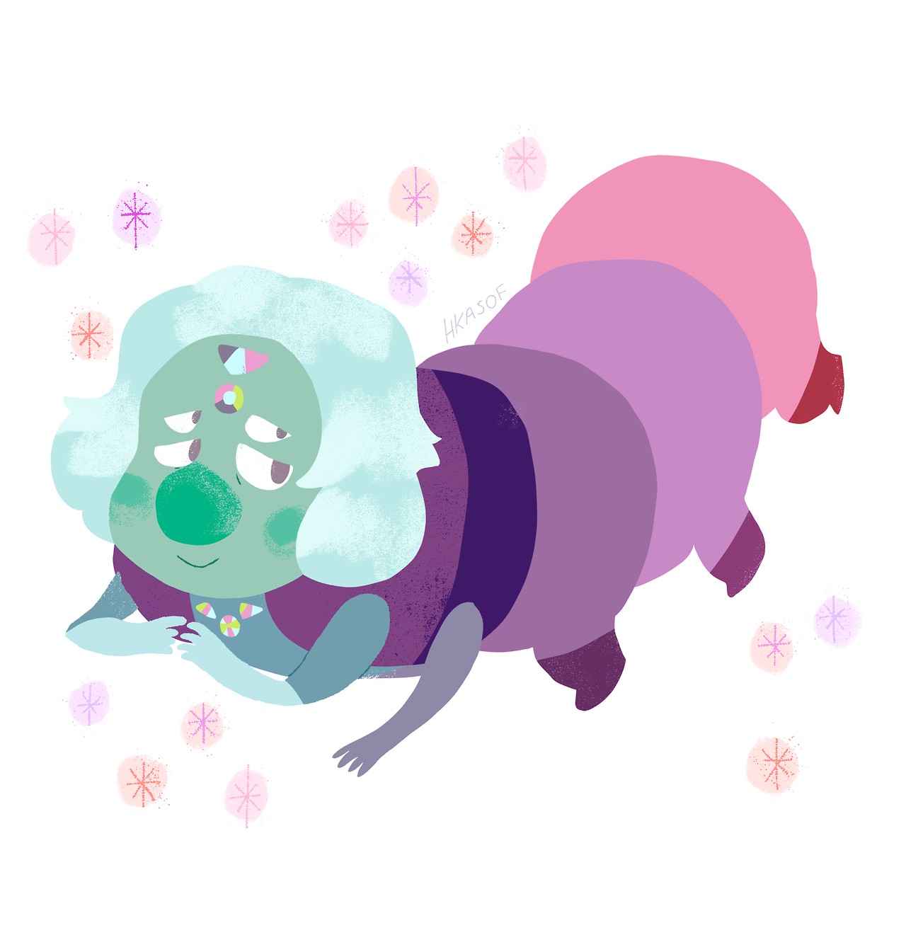 finally finished catching up to steven universe! i wanted to draw some of my favs to come out of steven bomb