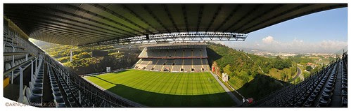 Braga football stadion - panorama