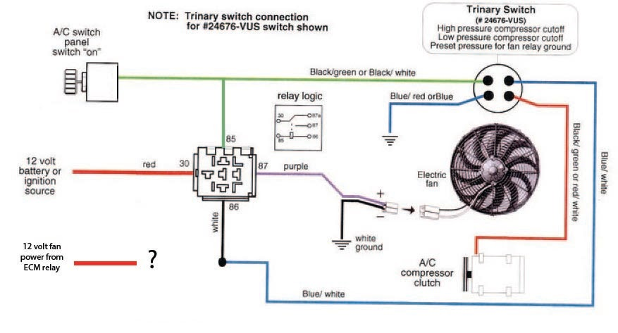 1987 Ford Taurus Cooling Fan Circuit Diagram