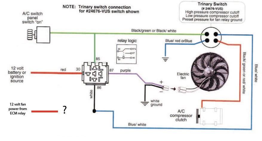 Wiring Diagrams Automotive Electric Fans 1987 Pontiac